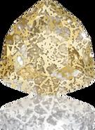 Swarovski Fancy Stone 4706 MM 17,0 CRYSTAL GOLD-PAT F(48pcs)