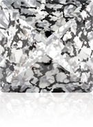 Swarovski Fancy Stone 4418 MM 6,0 CRYSTAL BLACK-PAT F(216pcs)
