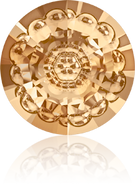 Swarovski Round Stone 1681 MM 12,0 CRYSTAL GOL.SHADOW F(72pcs)