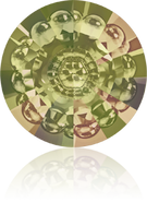 Swarovski Round Stone 1681 MM 16,0 CRYSTAL LUMINGREEN F(48pcs)
