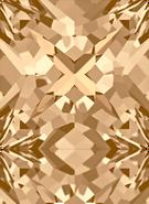 Swarovski Fancy Stone 4418 MM 6,0 CRYSTAL GOL.SHADOW F(216pcs)