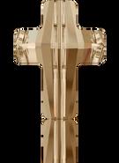 Swarovski 5378 MM 18,0 CRYSTAL GOL.SHADOW(48pcs)