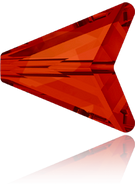 Swarovski 5748 MM 16,0 CRYSTAL RED MAGMA(48pcs)