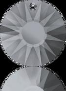 Swarovski Pendant 6724/G MM 12,0 CRYSTAL SILVNIGHT(144pcs)