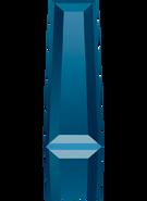 Swarovski Fancy Stone 4503 MM 6,3X 2,4 CRYSTAL MET.BLUE F(720pcs)