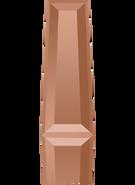 Swarovski Fancy Stone 4503 MM 6,3X 2,4 CRYSTAL ROSE GOLD F(720pcs)