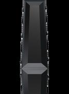 Swarovski Fancy Stone 4503 MM 6,3X 2,4 JET(720pcs)