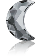 Swarovski 2813 MM 10,0X 7,0 CRYSTAL SILVNIGHT F(144pcs)