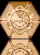 Swarovski Fancy Stone 4681 MM 18,0 CRYSTAL GOL.SHADOW F(48pcs)
