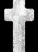 Swarovski 5378 MM 14,0 CRYSTAL SILVER-PAT(72pcs)
