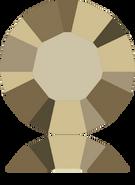 Swarovski 1028 PP 3 CRYSTAL METLGTGOLD F(1440pcs)