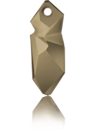 Swarovski Pendant 6913 MM 40,0 CRYSTAL METLGTGOLD(8pcs)