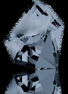 Swarovski Fancy Stone 4923 MM 38,0X 33,0 CRYSTAL SILVNIGHT(6pcs)
