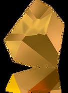 Swarovski Fancy Stone 4923 MM 38,0X 33,0 CRYSTAL DORADO F(6pcs)