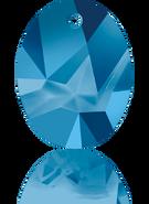 Swarovski Pendant 6911 MM 36,0 CRYSTAL MET.BLUE(9pcs)