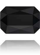 Swarovski 5515 MM 14,0X 9,5 JET(36pcs)