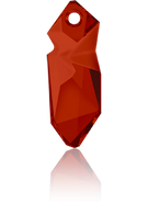 Swarovski Pendant 6913 MM 28,0 CRYSTAL RED MAGMA(15pcs)