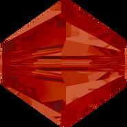 Swarovski Bead 5328 - 4mm, Crystal Red Magma (001 REDM), 1440pcs