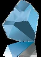 Swarovski Fancy Stone 4923 MM 28,0X 24,0 CRYSTAL MET.BLUE F(8pcs)