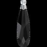 Swarovski 6533 MM 33,0 JET RHOD(12pcs)