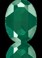 Swarovski Fancy Stone 4127 MM 30,0X 22,0 CRYSTAL ROYGREEN_S(24pcs)
