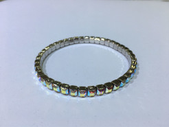 Swarovski Stretch Bracelet - 4428# 5mm Crystal AB
