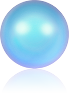 Swarovski 5810 MM 10,0 CRYSTAL IRIDESC. LT BLUE PRL(100pcs)
