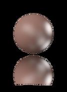 Swarovski 5810 Velvet Brown pearl