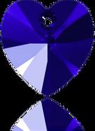 swarovski 6228# 18*17.5m Majectic Blue (2pcs)