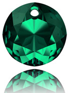 swarovski 6430# 10m Emerald (4pcs)