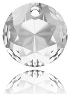 Swarovski Pendant 6430 - MM10, CRYSTAL (001), 48pcs