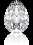 Swarovski Fancy Stone 4320 - 10x7mm, Crystal (001) Unfoiled, 144pcs