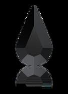 Swarovski 2300 MM 10,0X 6,0 JET(360pcs)