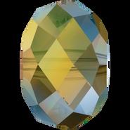 Swarovski Bead 5040 - 8mm, Crystal Iridescent Green (001 IRIG), 288pcs