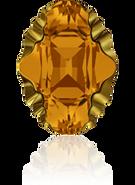 Swarovski 4926 MM 14,0X 10,0 TOPAZ DORADOZ F(36pcs)