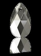 Swarovski 6106 MM 22,0 BLACK DIAMOND(96pcs)