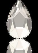 Swarovski Flatback 2303 - 8x5mm, Crystal Silver Shade (001 SSHA) Foiled, No Hotfix, 144pcs