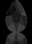 Swarovski 2303 MM 14,0X 9,0 JET(72pcs)