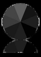 Swarovski 1185 PP 9 JET(1440pcs)