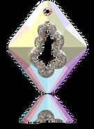Swarovski Pendant 6926 - 36mm, Crystal AB (001 AB), 8pcs