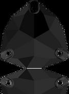 Swarovski 3272 MM 16,0 JET(24pcs)