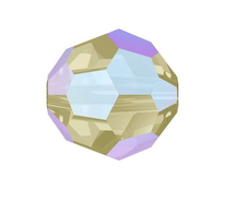 Swarovski Bead 5000 - 6m,  Black Diamond Shimmer (215 SHIM), 360pcs