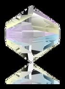Swar Bead 5328 -4mm, Crystal Shimmer 2x (001 SHIM2), 48pcs
