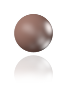 Swarovski 5818 MM 10,0 CRYSTAL VELVET BROWN PEARL(100pcs)