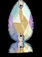 Swarovski 3230 MM 28,0X 17,0 BLACK DIAMOND SHIMMER F(24pcs)