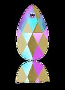 Swarovski 6106 MM 22,0 BLACK DIAMOND SHIMMER(96pcs)