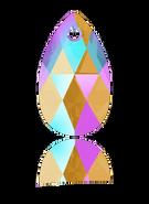 Swarovski 6106 MM 22,0 LIGHT COLORADO TOPAZ SHIMMER(96pcs)