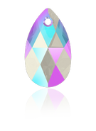 Swarovski 6106 MM 16,0 LIGHT SAPPHIRE SHIMMER(144pcs)