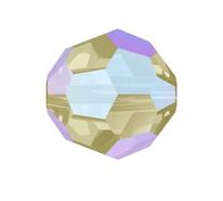 Swarovski Bead 5000 - 8m, Black Diamond Shimmer (215 SHIM), 288pcs
