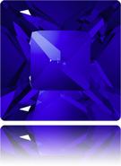 Swarovski 4428 MM 8,0 MAJESTIC BLUE F(144pcs)